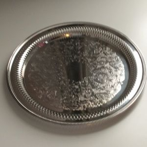 Silver-plated Serving Tray